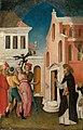 Antonio Vivarini - Saint Peter Martyr Exorcizing a Woman Possessed by a Devil - 1983.384 - Art Institute of Chicago.jpg