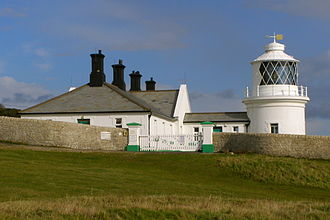 Durlston Country Park - The lighthouse at Anvil Point