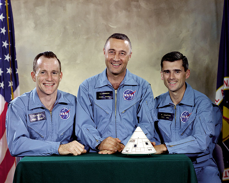 File:Apollo 1 Prime Crew - GPN-2000-001159.jpg