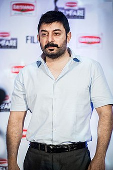 Aravind Swamy at 63rd Filmfare Awards 2016 (South) Press Meet.jpg
