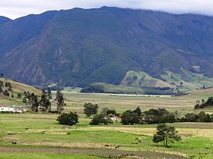 Altiplano Cundiboyacense - Typical landscape of the Altiplano, near Arcabuco, Boyacá