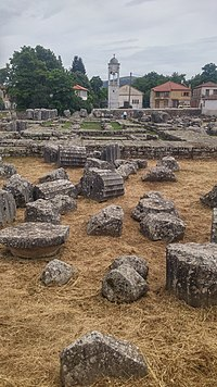 Archaeological site of the Temple of Athena Alea at Tegea (2017, image 2).jpg