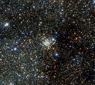 Arches Cluster - Arches Cluster in infrared (NASA/ESA Hubble Space Telescope)