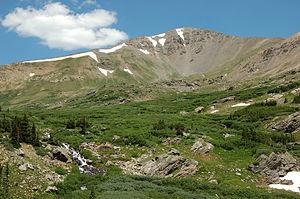 Argentine Peak - Argentine Peak, July 2006