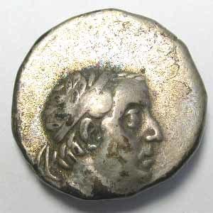 Ariobarzanes I of Cappadocia - Drachma of Ariobarzanes I of Cappadocia