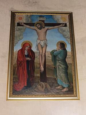 Armenian church of St. Catherine, crucifixtion, Saint-Petersberg.JPG, автор: Perfektangelll