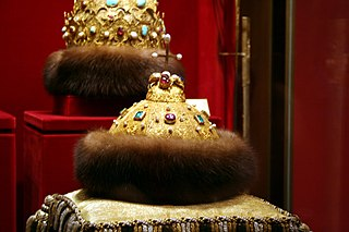 Relic of the Russian tsars and Grand Dukes