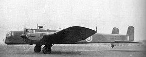 No. 4 Group RAF - An Armstrong Whitworth Whitley