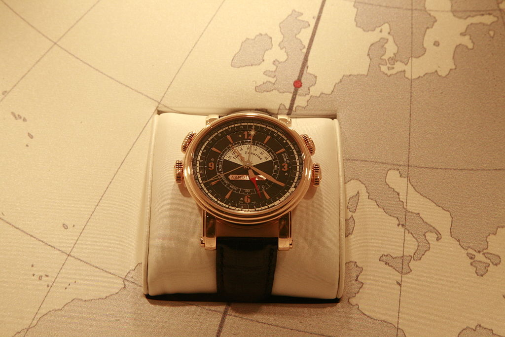 Arnold & Son, Historical, Classic, Watch, Time, Map