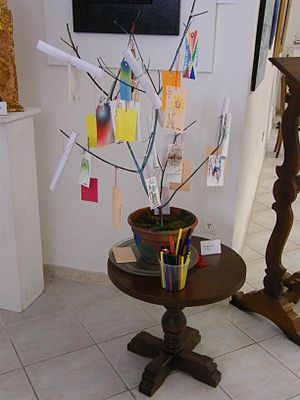The Art & Poetry Tree is Lidia Chiarelli's ins...