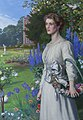 Arthur Hughes (1832-1915) - Margaret Lushington (d.1906), Mrs Stephen Langton Massingberd - 637629 - National Trust.jpg