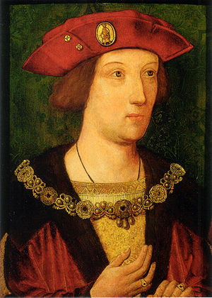 Arthur, Prince of Wales - Anonymous portrait, c. 1501