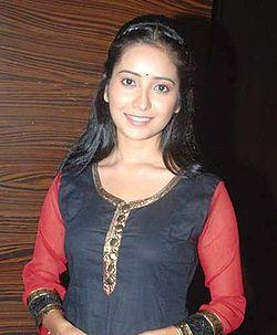 Asha Negi at the Post-leap launch of Pavitra Rishta.jpg