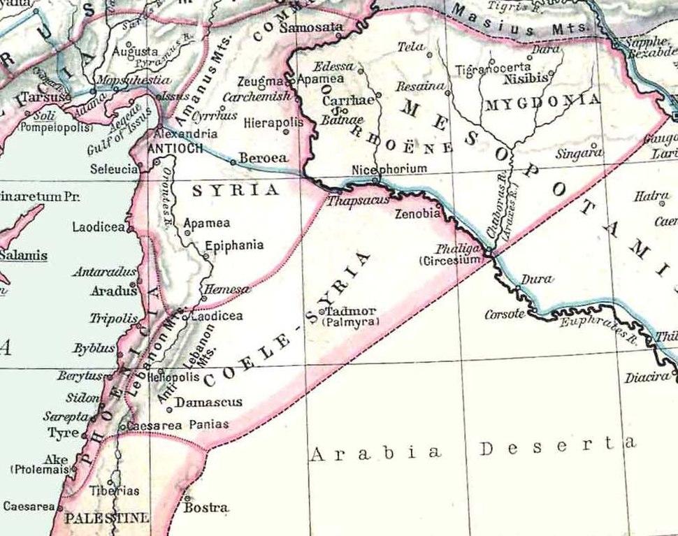 Asia minor-Shepherd 1923 Syria
