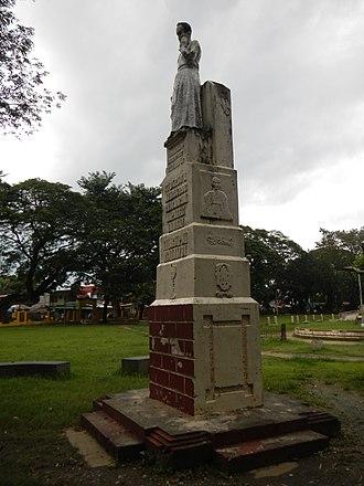José Burgos - Monument at Asingan, Pangasinan