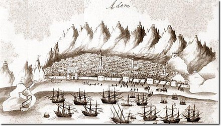 Portuguese Viceroy Afonso de Albuquerque failed twice to conquer Aden, though the Portuguese Empire managed to rule Socotra until 1511. Assault on Aden.jpg