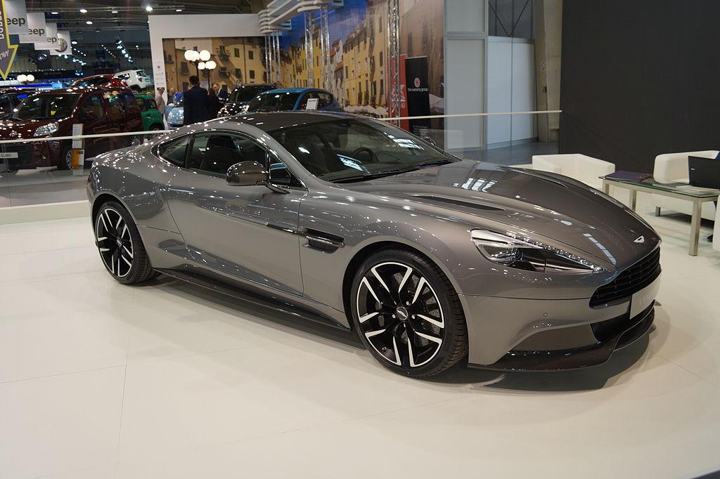 Aston Martin Vanquish na Motor Show Poznań 2015