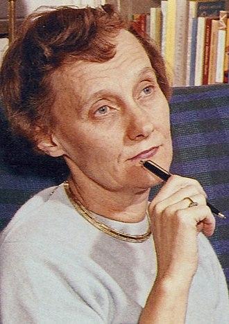 Astrid Lindgren - Astrid Lindgren around 1960