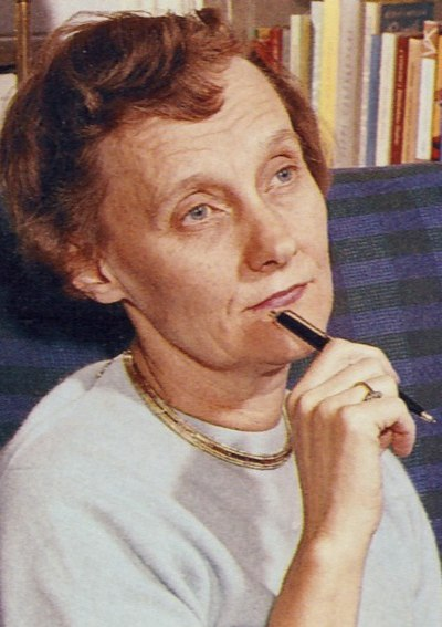 Picture of an author: Astrid Lindgren