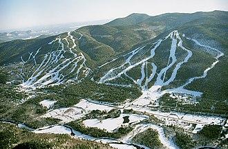 Attitash Mountain Resort - Image: Attitash aerial