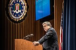 Attorney General William Barr addresses the 276th graduating class of the National Academy.jpg