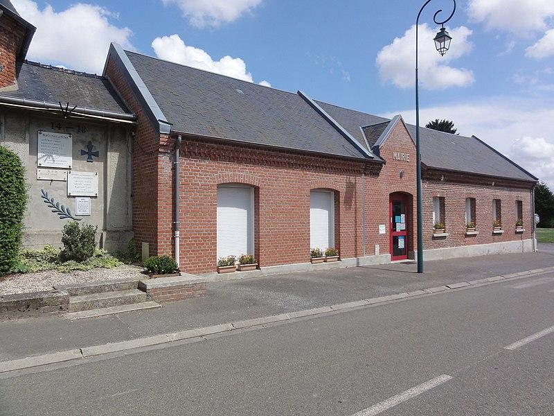 Aubigny-aux-Kaisnes (Aisne) mairie
