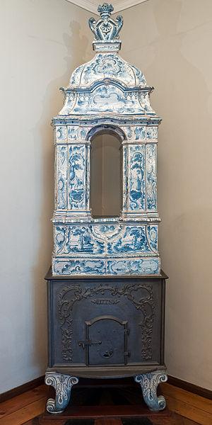 Hamburg Museum - Aufsatzofen, 1778