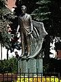 August Cieszkowski monument, Swarzędz, Rynek.jpg