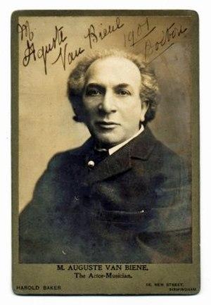 Auguste van Biene -  van Biene, c.1907