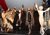 Cast of a 2011 production of Cats