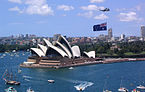 ...i jego pomnik w centrum Sydney
