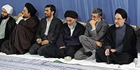 Authorities and Officials meet with Supreme Leader of Iran-October 30, 2005.jpg