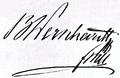 Autograph Stefan Freiherr von Wernhardt.png