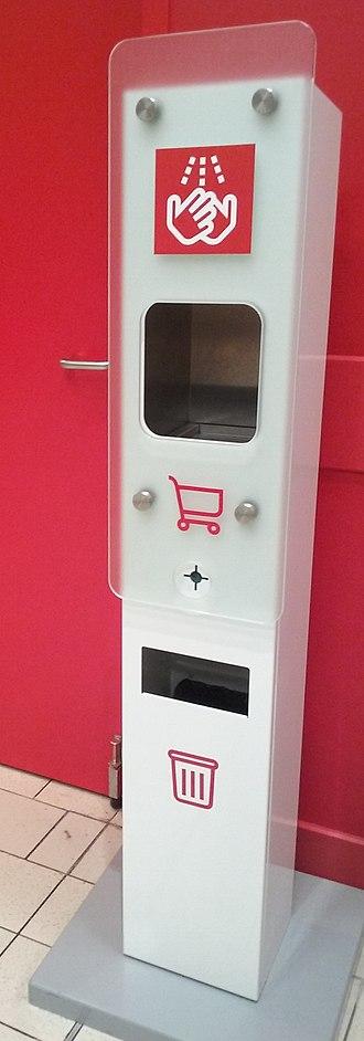 Disinfectant - Automatic hand sanitizer in Tomaszów Mazowiecki, Poland