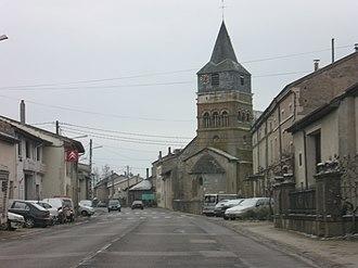 Autreville, Vosges - The church in Autreville