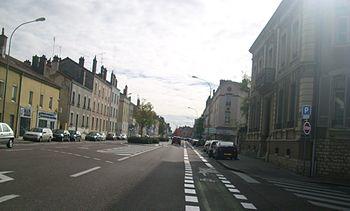 Avenue de Paris à Chalon-sur-Saône.JPG
