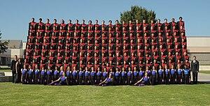 Ruben S. Ayala High School - Image: Ayala Band and Color guard, 2010
