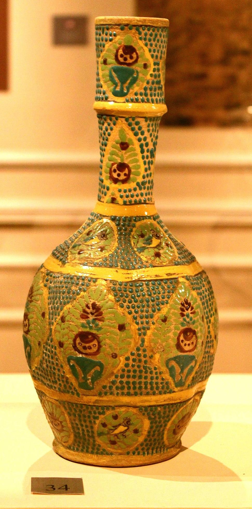 Azerbaijani Atabeks era vase from Ganja