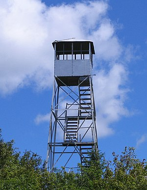 National Register of Historic Places listings in Franklin County, New York - Image: Azure Mountain Fire Tower