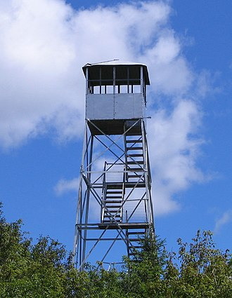 Azure Mountain - Azure Mountain Fire Tower