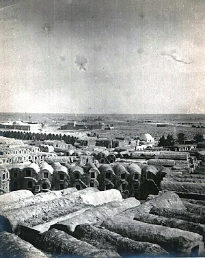 Medenine - Panorama of Medenine