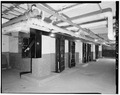 BASEMENT, SOLITARY CONFINEMENT CELL BLOCK - Fort Sheridan, Guardhouse, Lyster Road, Lake Forest, Lake County, IL HABS ILL,49-FTSH,1-7-10.tif