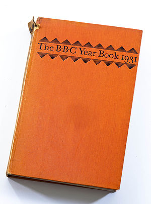 Cover of the BBC Year Book 1931