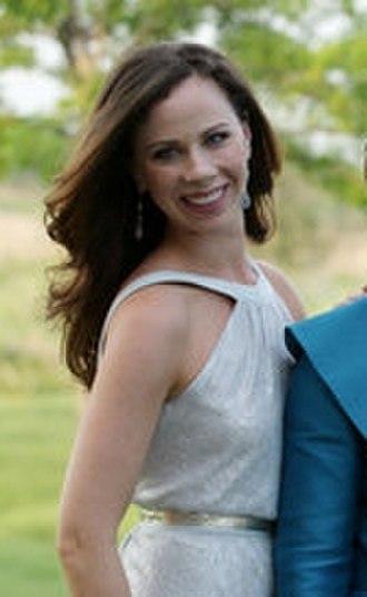 Barbara Bush (born 1981) - Bush at the wedding of Jenna Bush in May 2008