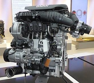 BMW B48 - Image: BMW B48 im BMW Museum 2018 06