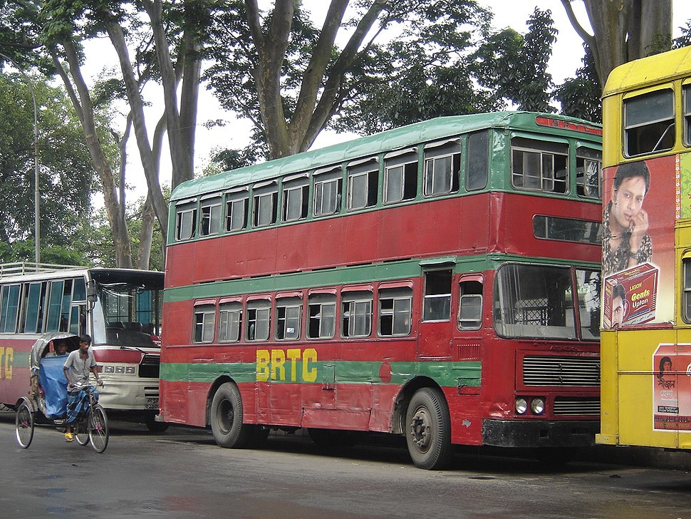 BRTC double decker bus 03652