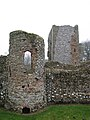Baconsthorpe Castle - west wall tower - geograph.org.uk - 1121157.jpg
