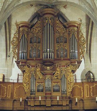 Bad Sobernheim - Igelsbachstraße 7 – Saint Matthew's Evangelical Parish Church (Pfarrkirche St. Matthias), Stumm organ