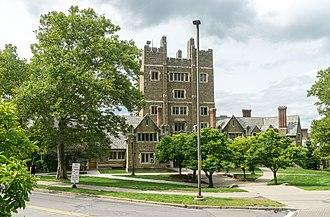 Charles Klauder - Baker Tower at Cornell University
