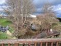 Balderton Brook and Old Sandstone Bridge - geograph.org.uk - 345500.jpg